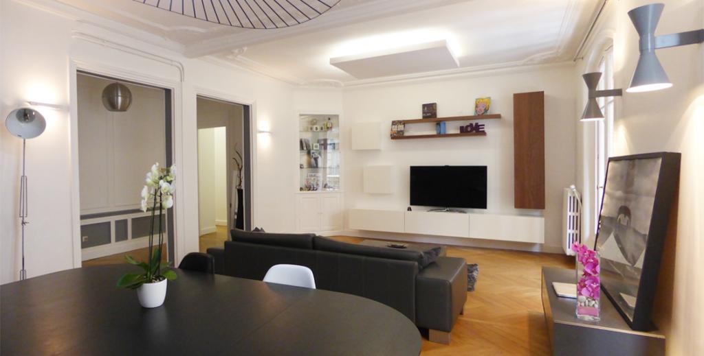Appartement haussmannien à Paris - Batignolles
