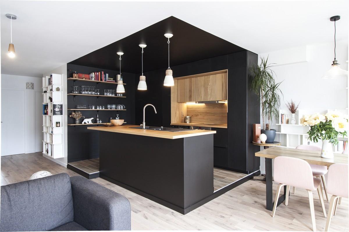 Appartement Style Industriel Paris Buttes Chaumont