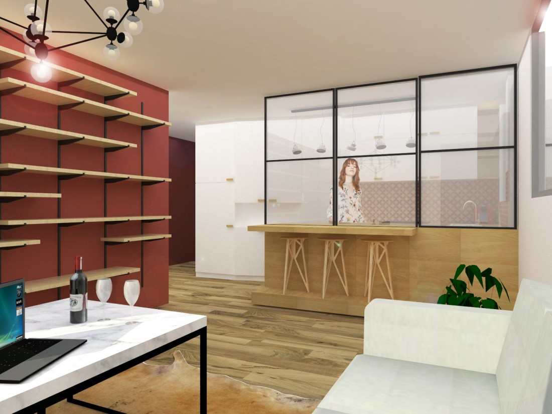 Appartement Modulable Levallois B N Architecture