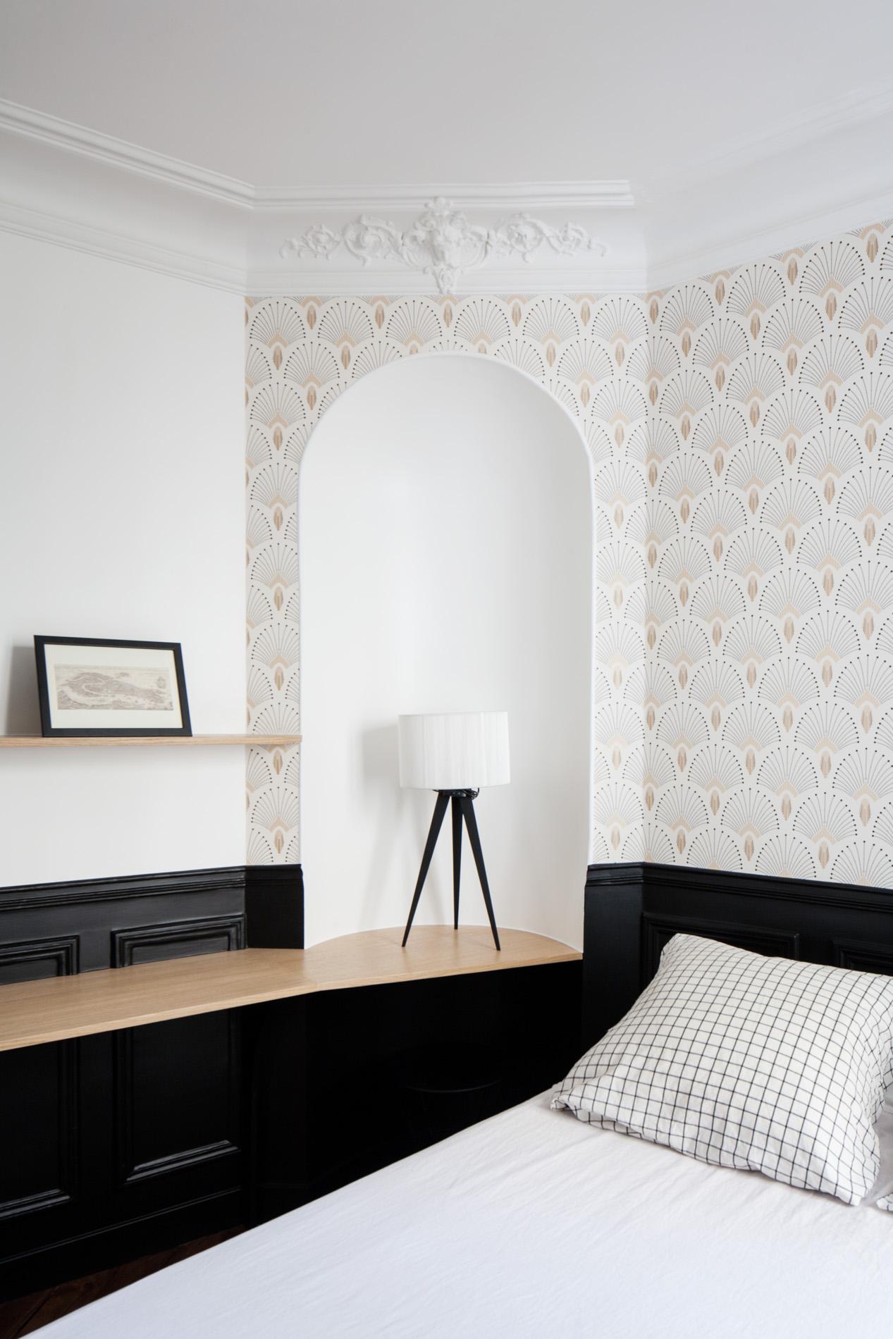 ban architecture renovation appartement paris haussmannien art nouveau interieur pigalle 9