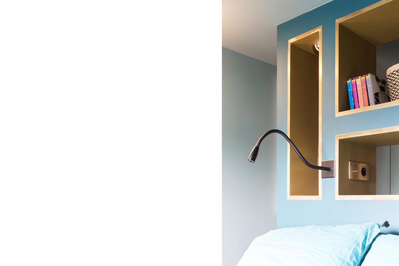 ban architecture renovation appartement paris interieur haussmannien combles comble or laiton grands boulevards 133