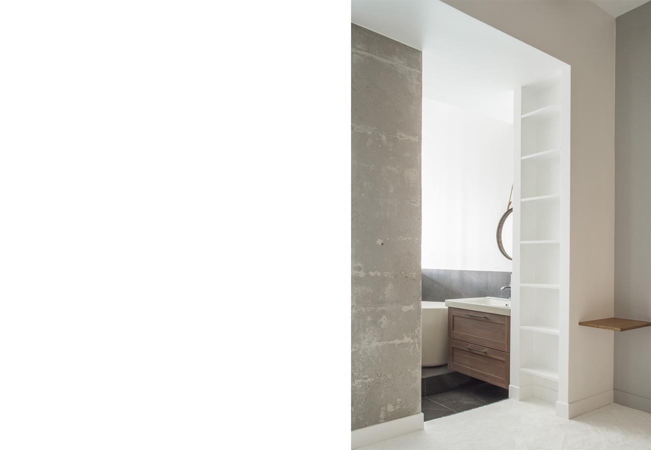 ban architecture renovation appartement paris interieur douceur maison blanche place d italie 100