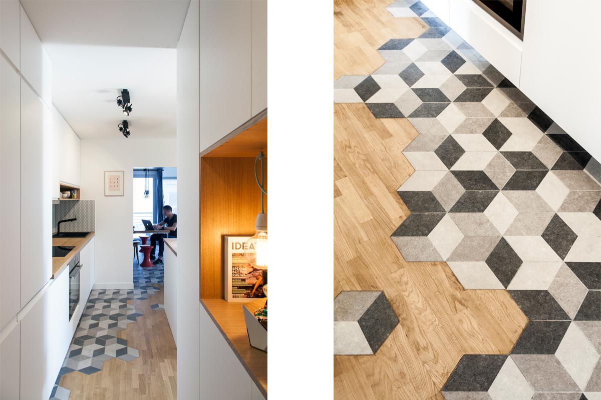 ban architecture renovation appartement retro urbain paris ourcq 13