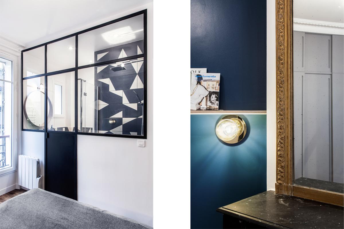 ban architecture intérieur contemporain jeune couple paris 15