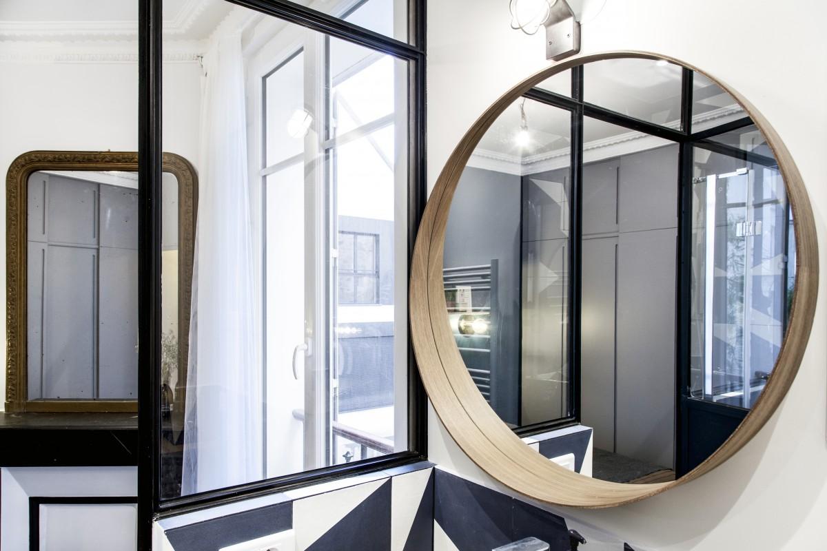ban architecture intérieur contemporain jeune couple paris 4