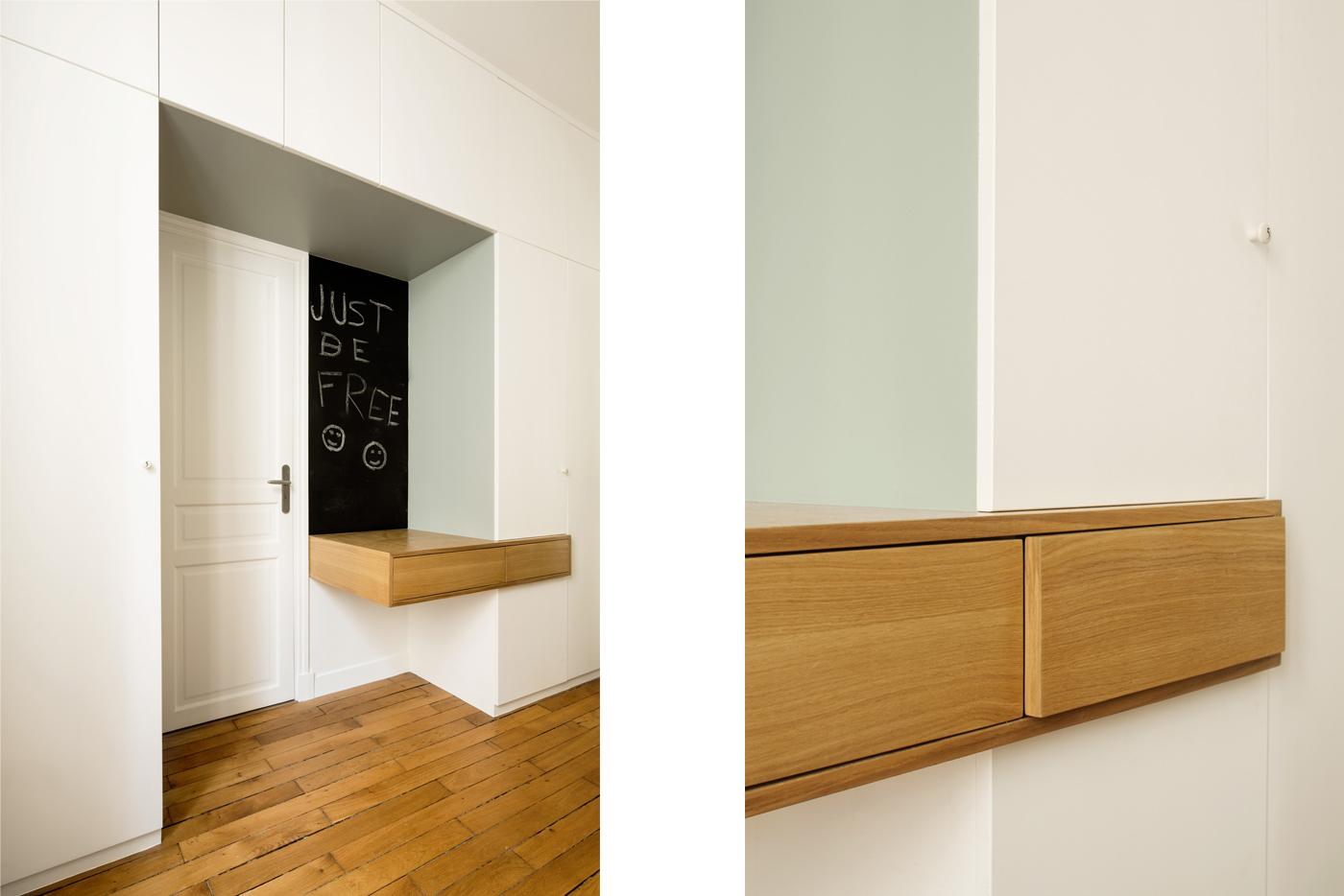 ban architecture rénovation appartement paris haussmannien lumineux ternes 3