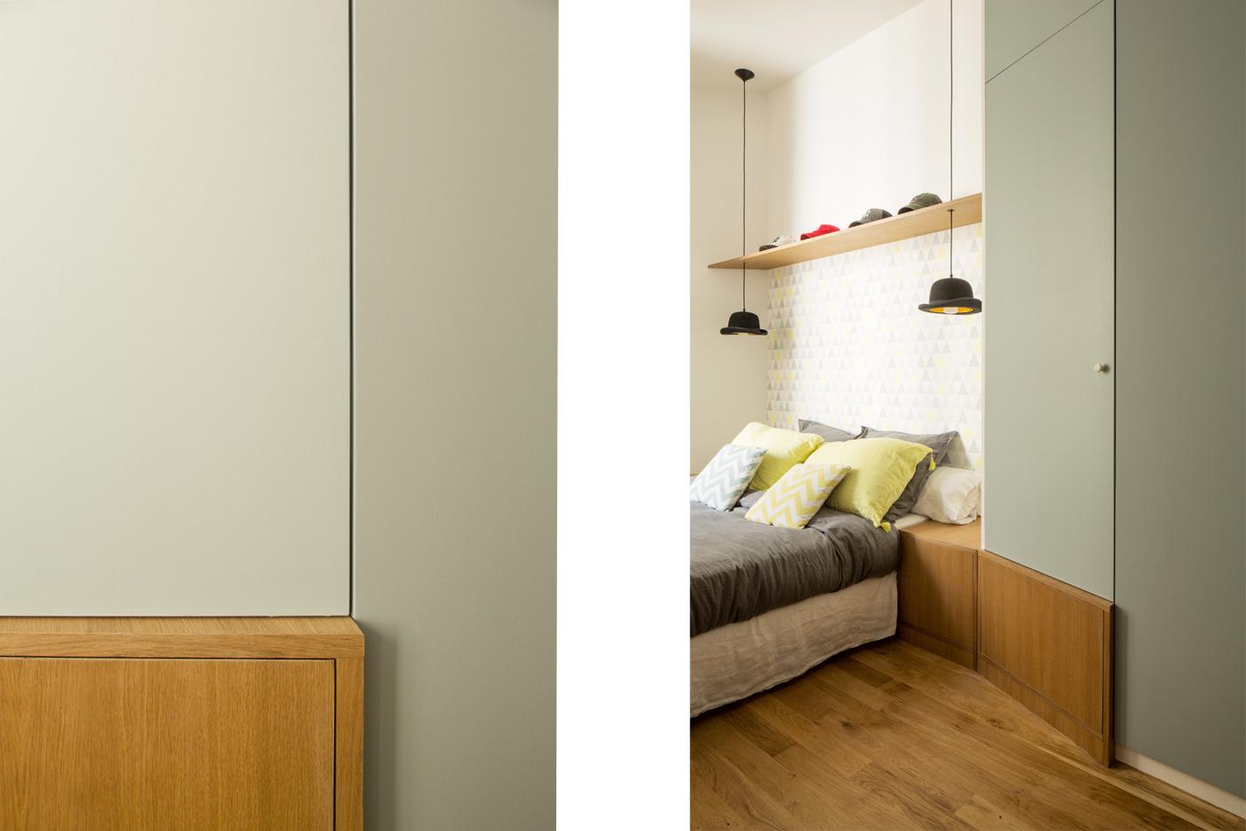 ban architecture rénovation appartement paris haussmannien lumineux ternes 4