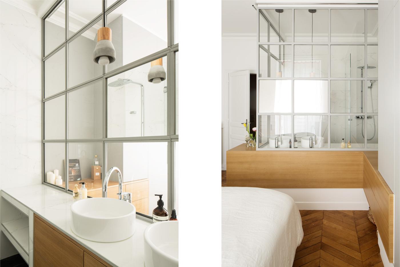 ban 0architecture rénovation appartement paris haussmannien lumineux ternes 7