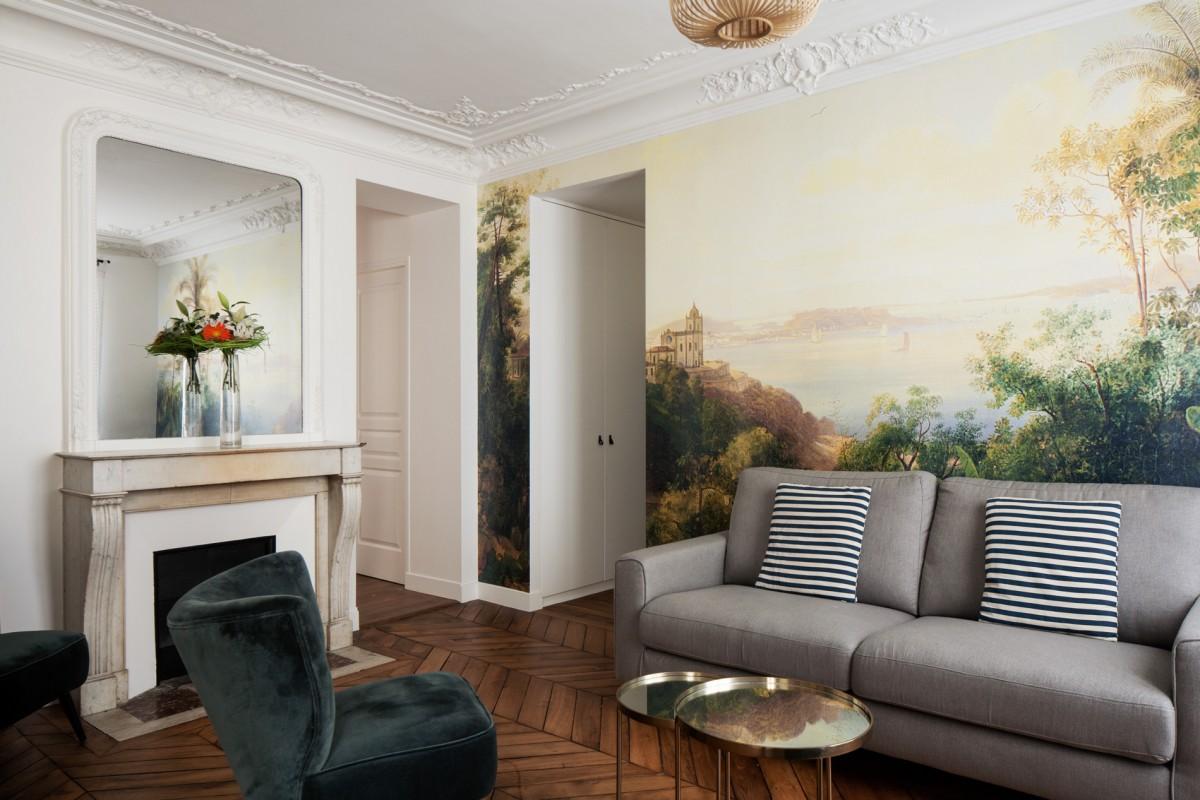 ban architecture renovation appartement paris haussmannien art nouveau interieur pigalle 102