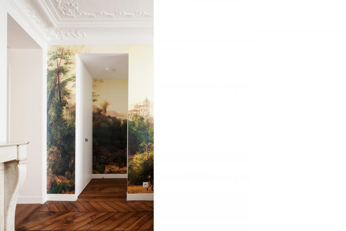 ban architecture renovation appartement paris haussmannien art nouveau interieur pigalle 103