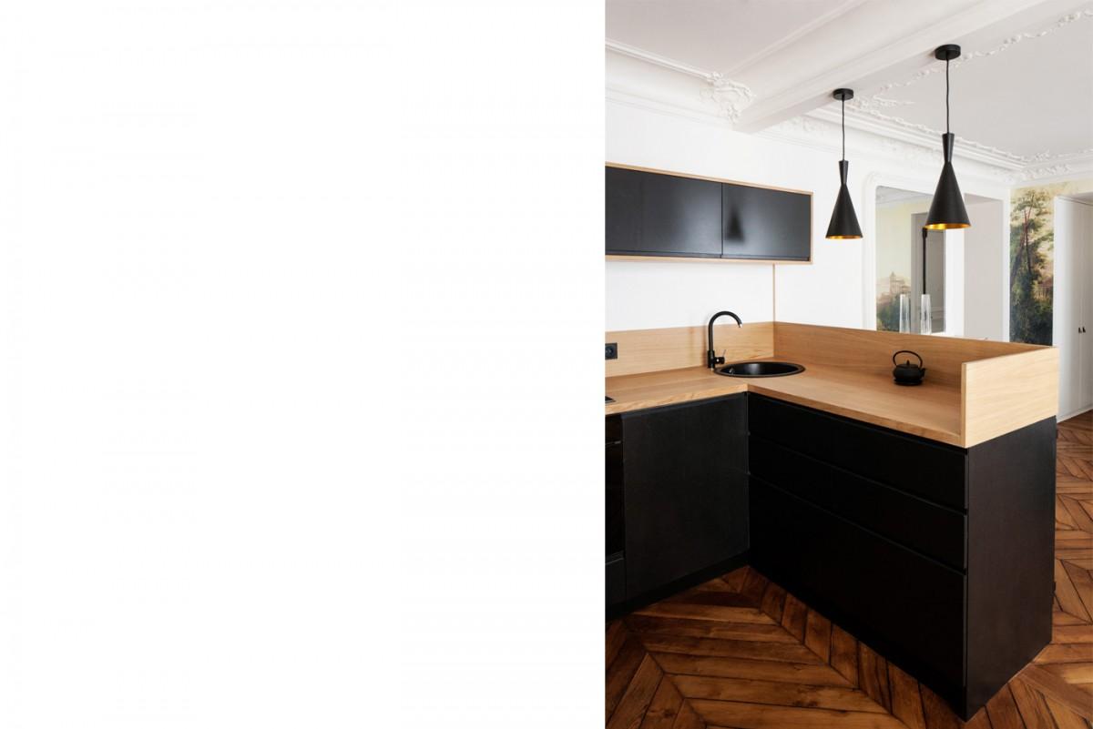 ban architecture renovation appartement paris haussmannien art nouveau interieur pigalle 106