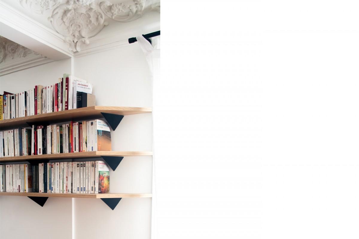 ban architecture renovation appartement paris haussmannien art nouveau interieur pigalle 109