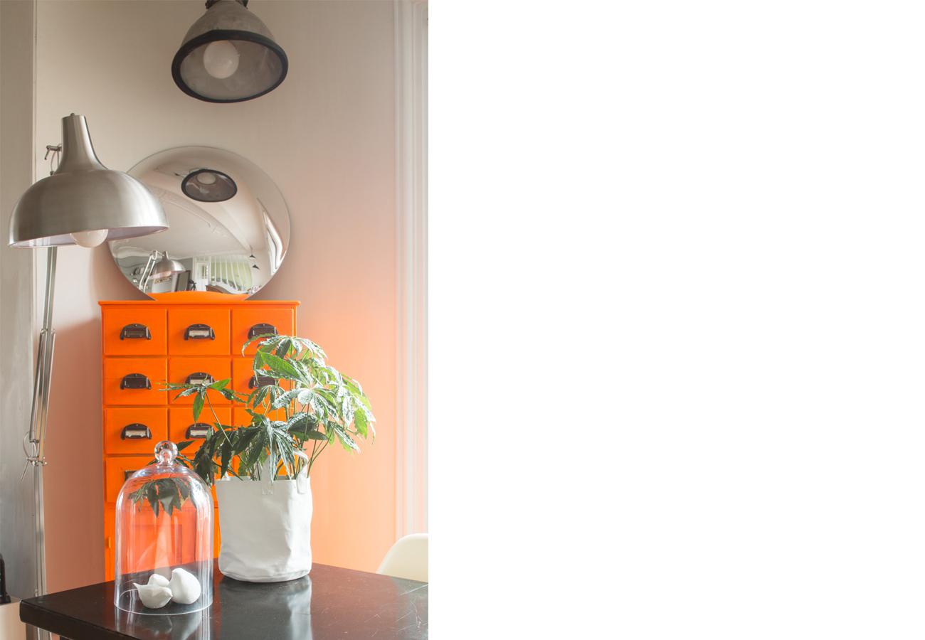 ban architecture renovation appartement paris interieur haussmannien gris vert belleville jaures 44