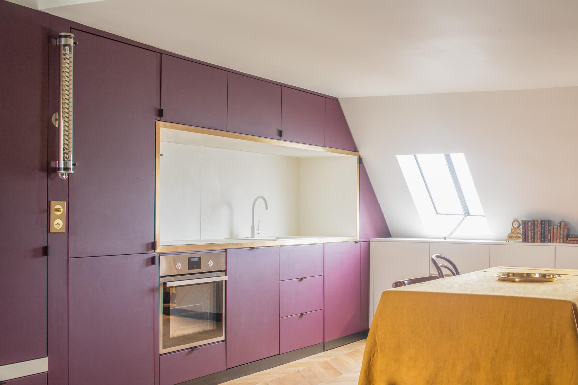 ban architecture renovation appartement paris interieur haussmannien combles comble or-laiton grands boulevards 4