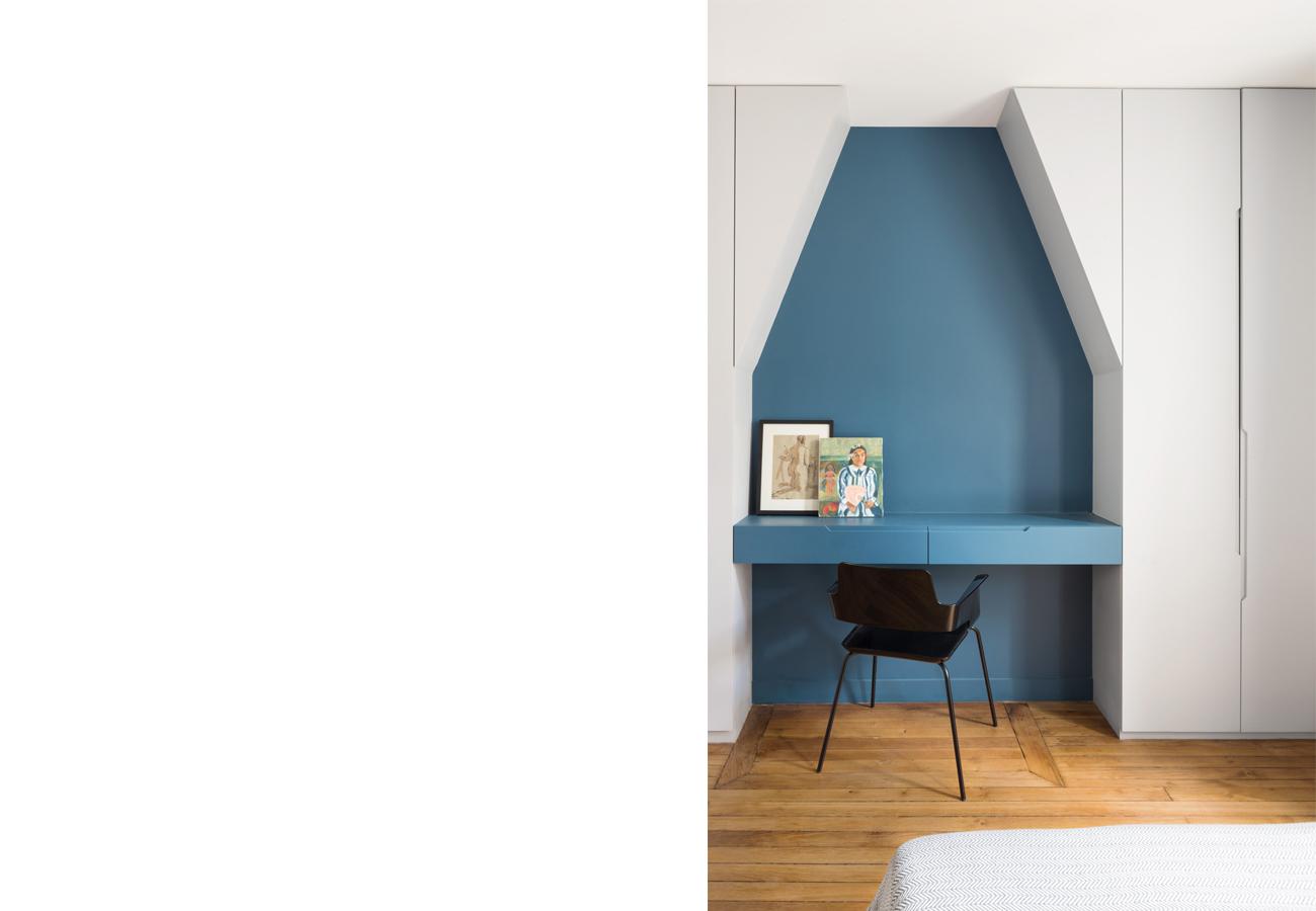 ban architecture renovation appartement paris interieur duplex beton-denfert-rochereau 110