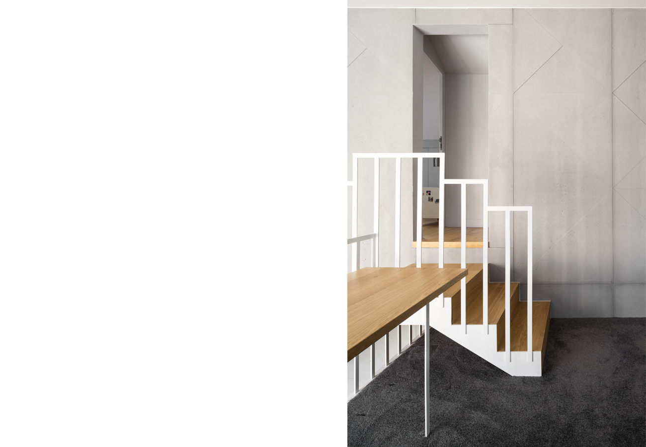 ban architecture renovation appartement paris interieur duplex beton-denfert-rochereau 140