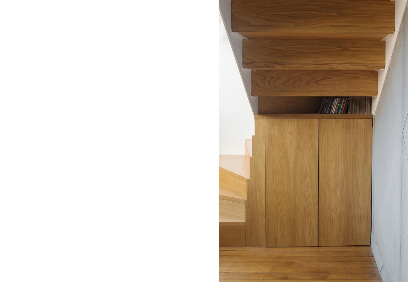 ban architecture renovation appartement paris interieur duplex beton-denfert-rochereau 40